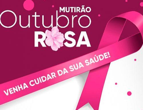 MUTIRÃO OUTUBRO ROSA
